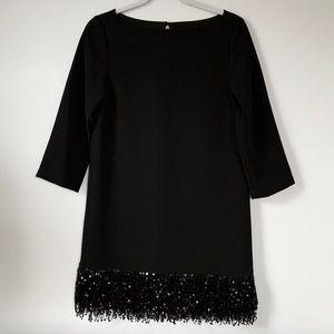 Kate Spade Sequin Fringe Mini Shift NightOut Dress